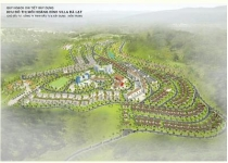 Chào bán đất nền Hoàng Đình Villa Đà Lạt có giá từ 3,8 triệu đồng/m2