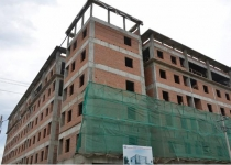 Chung cư An Bình đã hoàn thành xây thô