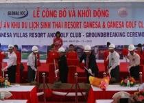 Động thổ dự án Khu du lịch sinh thái tại Ninh Thuận