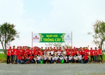 Trồng 1000 cây xanh tại Eco Village