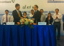 Vietcombank ký hợp tác với Ngân hàng Xây dựng