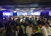 Đông đảo khách hàng tham quan buổi giới thiệu dự án của Novaland