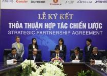 Vingroup ký thỏa thuận chiến lược với 8 đối tác trong lĩnh vực xây dựng