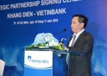 Khang Điền ký kết hợp tác với Vietinbank