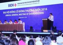 Năm 2016, BIDV lên kế hoạch đạt 7.900 tỷ lợi nhuận