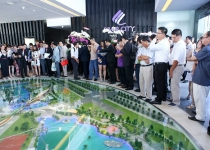 Khai trương nhà mẫu và mở bán dự án River City