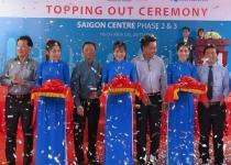 Cất nóc giai đoạn 2 và 3 dự án Saigon Center