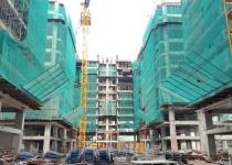 Cất nóc block B dự án HOF - HQC Hồ Học Lãm