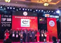 Cityland lọt vào Top 500 Doanh nghiệp lớn nhất Việt Nam 2016