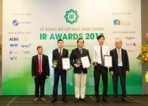 Bất động sản Phát Đạt vào Top 3 IR Awards 2018