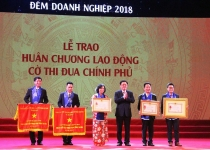 Văn Phú – Invest được vinh danh tại Đêm Doanh nghiệp 2018