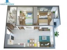 Hà Đô Riverside - căn hộ giá rẻ tiện nghi cho giới trẻ, cam kết giá tốt nhất Q12, LH: 0909.16.00.18
