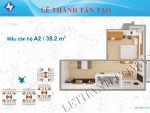 330tr dọn vào ở ngay căn hộ 38.2m2 tại Cc Lê Thành Tân Tạo Q Bình Tân