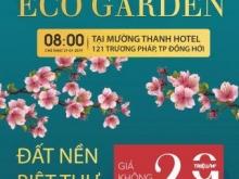 Đón xuân nhận Lộc Vàng - SK mở bán ECO GARDEN 8H00 ngày 27/1 tại KS Mường Thanh Quảng Bình