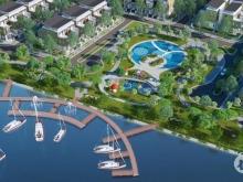 Mở bán đợt đầu tiên đất nền biệt thự Ven Sông khu Green City p6-Tân An.