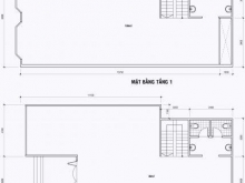 Nhà HXT 79/5B Phan Đăng Lưu, 8x20 hầm trệt 3 lầu =80tr