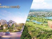 Bán Xuất nội bộ 100 nền Đất nền nhà phố và Biệt Thự Biên Hòa New City. giá 12tr/m2. lh 090931430