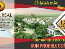 Mở bán dự án đất nền  SUN PHOENIX COMPLEX giai đoạn 1 - giá siêu tốt, đầu tư siêu lợi nhuận
