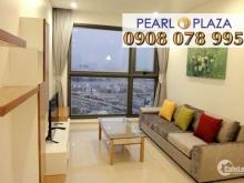 Pearl Plaza Q.Bình Thạnh - Cho Thuê CH 2PN, View Sông SG, Nội Thất Đầy Đủ. Hotline PKD SSG 0908 078 995 Xem Nhà Ngay