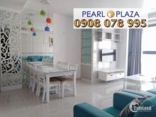 Pearl Plaza Q.Bình Thạnh - Cho Thuê CH 2PN_97m2, tầng cao, full nội thất. Hotline PKD SSG 0908 078 995 Xem Nhà Ngay