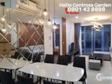 CH 2PN_107m2 tại Hà Đô Centrosa Garden cho thuê, đủ nội thất, chỉ xách vali vào ở. Hotline PKD 0901 42 8898 xem nhà ngay