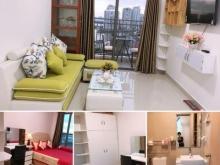 Chung cư The Sun Avenue 1PN full nội thất cho thuê - View sông + đảo kim cương - Hình thật.