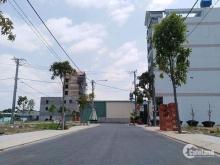 1.1Đất mặt tiền đường Nguyễn Trung Trực TTTT Bến Lức, SHR, DT: 5x20m, Giá: 850 triệu