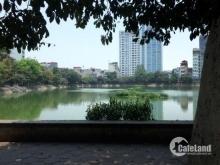 Mặt bằng kinh doanh tuyệt đẹp mặt tiền 7m view hồ Xã Đàn, giá 37tỷ