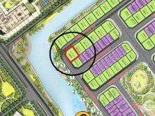 Biệt thự đơn lập góc view sông NGọc Trai 18-39 dự án Vinhomes Ocean Park