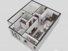 Cần bán căn hộ Goldora Plaza, căn 2PN 67m2 , Nhà HTCB, LH:0766980802