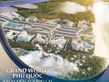 CHỈ 800Tr - Sở Hữu Ngay Căn Hộ Nghỉ Dưỡng 3 sao Grand World Phú Quốc