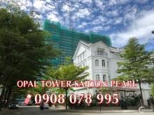 Bán căn hộ 1PN dự án Opal Tower-Saigon Pearl chỉ 3,1 tỷ - Hotline 0908 078 995