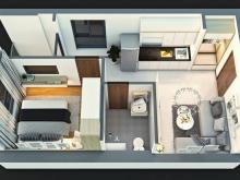 Chuyển công tác cần nhượng lại căn hộ đối diện Suối Tiên quận 9, giá 840tr