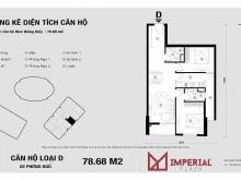 Bán căn hộ 83m2 Imperia Plaza 360 Giải Phóng,Thanh Xuân, view đẹp