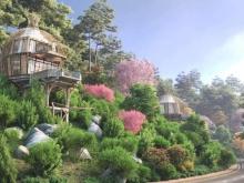 0961980322! Giải mã sức hút nghỉ dưỡng Hòa Bình - Sakana resort điểm đến các nhà