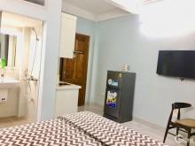 Bán gấp nhà Hoàng Hoa Thám, apartment cho thuê, full NT, ôtô 66m2x6T thang máy