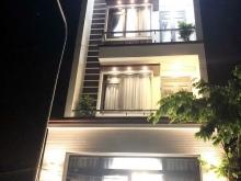 Bán nhà đẹp 4 tầng mặt tiền đường 8m-khu Anh Tuấn huyện Nhà Bè  -Diện tích: 5x16