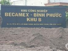 Đất nền liền kề KCN  Becamex Chơn Thành - Bình Phước