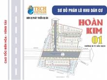 Đất nền khu dân cư Hoàn Kim 1 giá F0 đầu tư, chỉ từ 499 triệu / nền