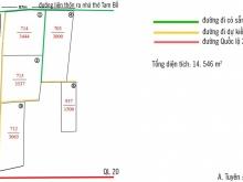 Chính chủ bán 14546 m2 đất trung tâm xã Tam Bố