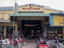 Bán Đất ngay chợ Tân Phú Trung 5x20 giá 950 triệu,SỔ HỒNG RIÊNG