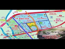 Ban Đất Đẹp Vị Trí Tốt TT Long Thành, DT 210m2, Sổ Hồng Riêng