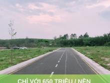 Bán gấp lô đất nền mặt tiền gần TT Long Thành, thổ cư 100%, SHR.