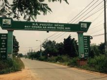 Đất tái định cư mặt tiền Phước Bình, DT 16x27m, thổ cư 300, sổ riêng,