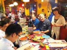 Sang nhượng nhà hàng tại Núi Trúc 110m2 mặt tiền 10m giá thuê 42tr/tháng lh 0966669603