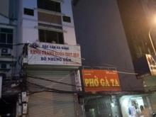 Cho thuê nhà mặt phố Chùa Láng 65m2 2 tầng mặt tiền 5m