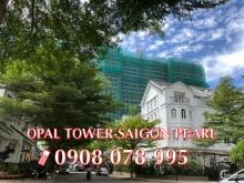 Bán căn hộ 1PN dự án Opal Tower-Saigon Pearl chỉ 3,1 tỷ - Hotline PKD 0908 078 9