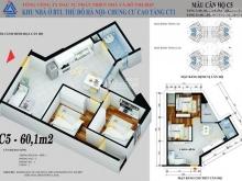 Tôi bán căn 2PN-1VS, chung cư CT1-Yên Nghĩa. Lh : 097.534.2826
