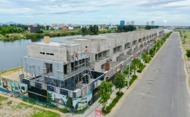 """Thu hồi GPXD, phạt Đất Xanh Miền Trung vì xin giấy phép """"nhà ở riêng lẻ"""" để xây"""