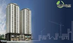Green Park Tower: Căn hộ hiện đại với không gian xanh